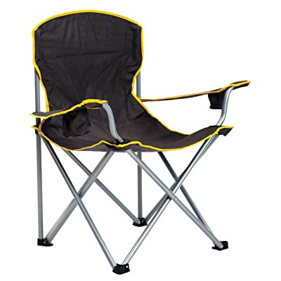 Quik Chair Heavy Duty Oversized Folding Camp Chair with Carry Bag : Sports & Outdoors