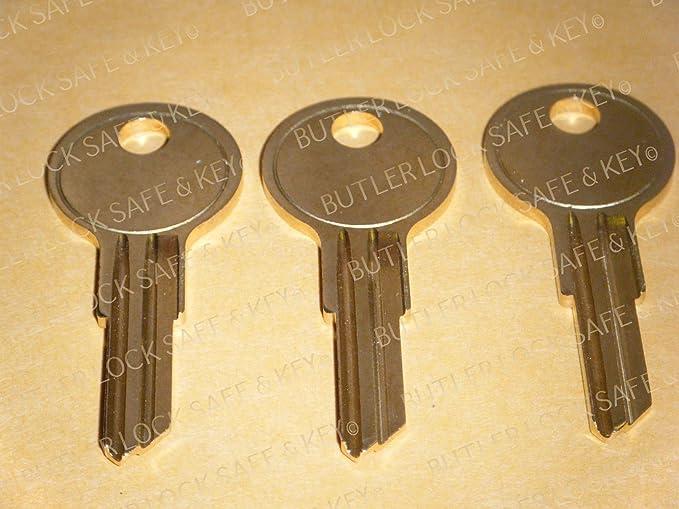 2 POP /& LOCK Hayon Replacement Keys codes T001 à T020 et camion Lock Key