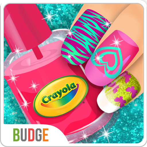 Crayola Nail Party - A Nail Salon Experience