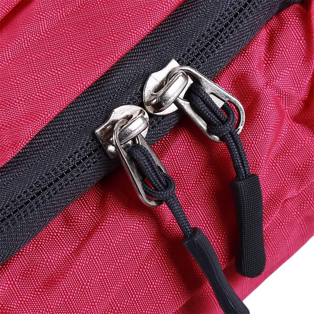 Violet SEVENHOPE Sac De Sport pour Hommes Sac /à Bandouli/ère Pliable Sac /à Bandouli/ère Sling Backpack