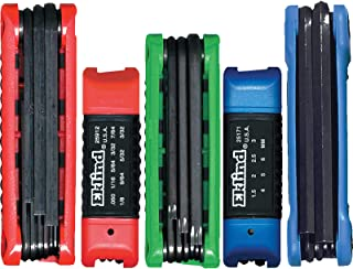 product image for EKLIND 25036 Ergo-Fold Fold-up Hex Key allen wrench Combo- Inch/MM/TORX star (5 sets 36pc)