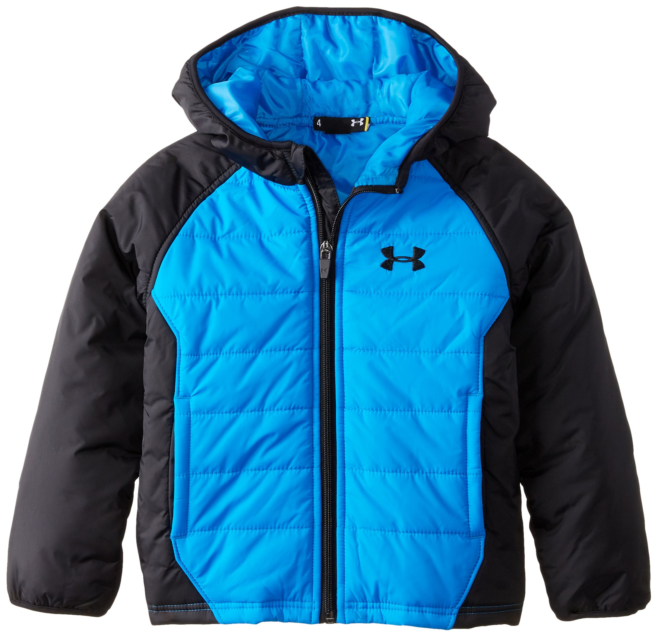 Under Armour Little Boys' Werewolf UA Quilted Jacket, Blue Jet, 5