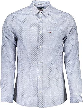 Tommy Hilfiger TJM Dobby Shirt Camisa para Hombre: Amazon.es ...