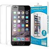 Power Theory iPhone 8 Plus Panzerglasfolie (2 Stück) - Japanische 9H Panzerglas Folie, HD Displayschutzfolie/Panzerfolie, Tempered Glas Schutzglas, Handy Hartglas Schutzfolie, Screen Protector Glass