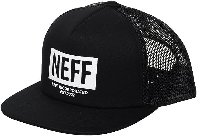 7b150b213a4 Amazon.com  NEFF Men s Corpo Mesh Trucker Hat-Flat Billed Cap ...