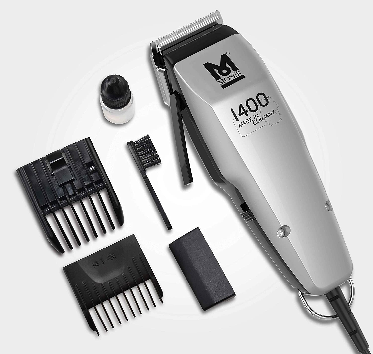 Moser 1400-0458 Hair Clippers Edition 1400 (Mains Shaver): Amazon ...