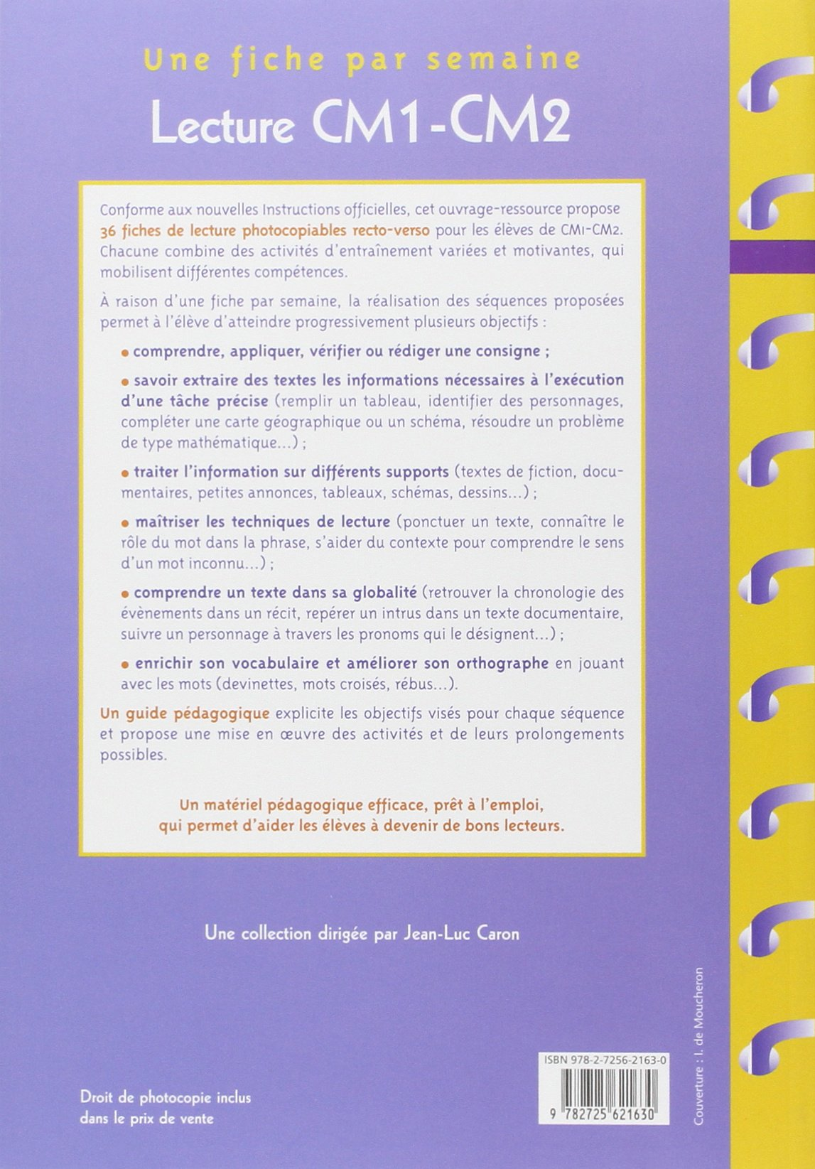 Relativ Lecture CM1-CM2: Amazon.fr: Christian Lamblin: Livres HE17