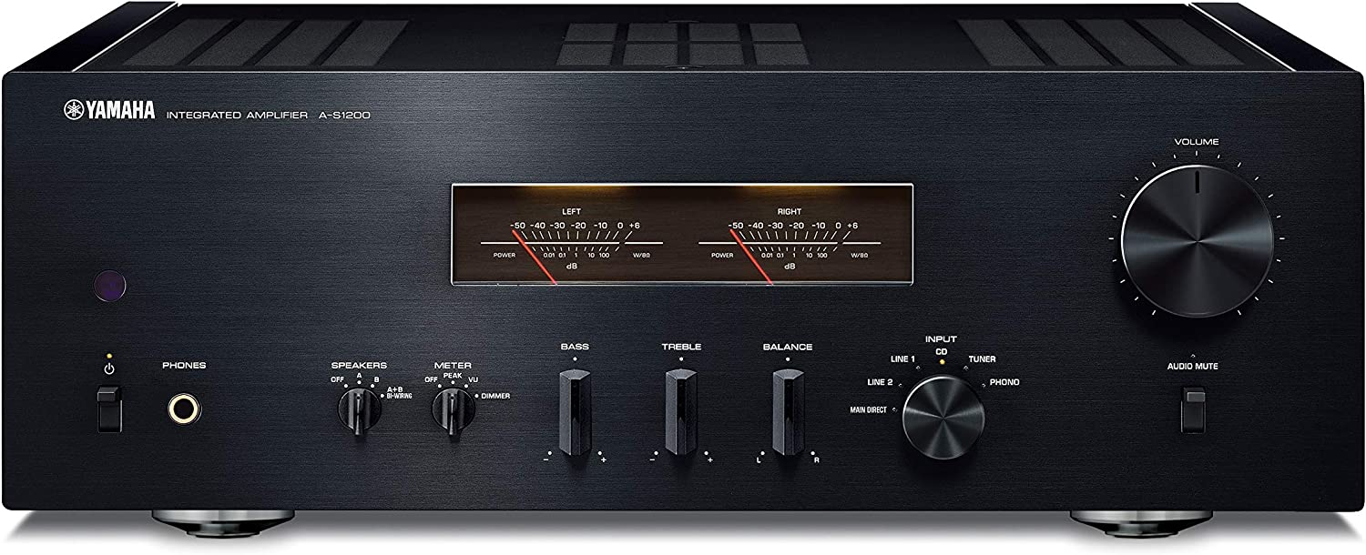 Yamaha Audio A-S1200BL Integrated Amplifier (Black)
