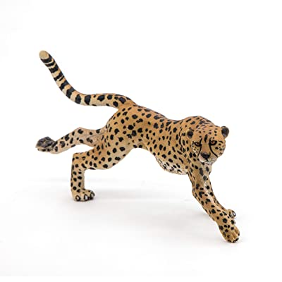 Papo Running Cheetah Figure, Multicolor: Toys & Games