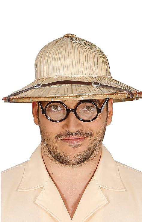 d4c0d3c86cab5 Guirca Sombrero explorador paja Talla única 13615.0  Amazon.es ...