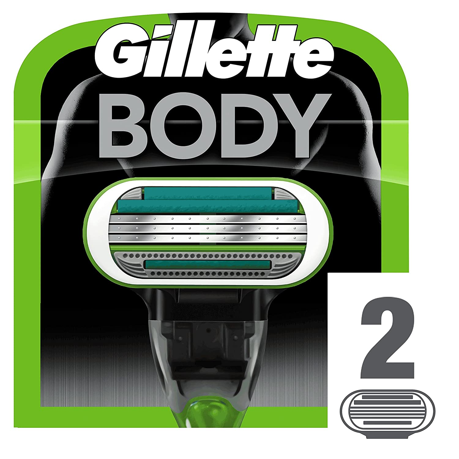 Gillette Body Razor Charger - Pack of 2 7702018413874