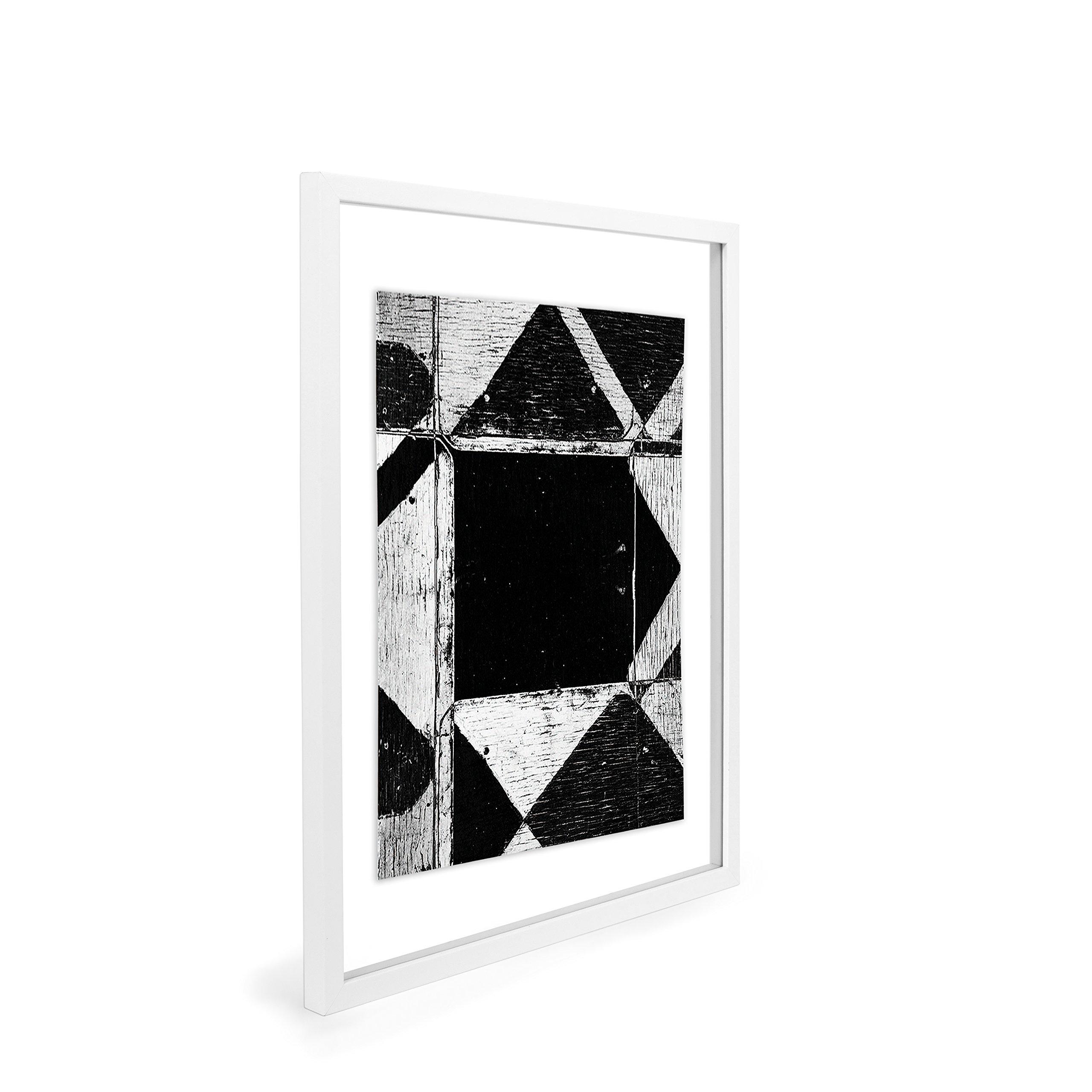 EDGEWOOD Driftwood- Float Frame- 11x14 White by EDGEWOOD (Image #3)
