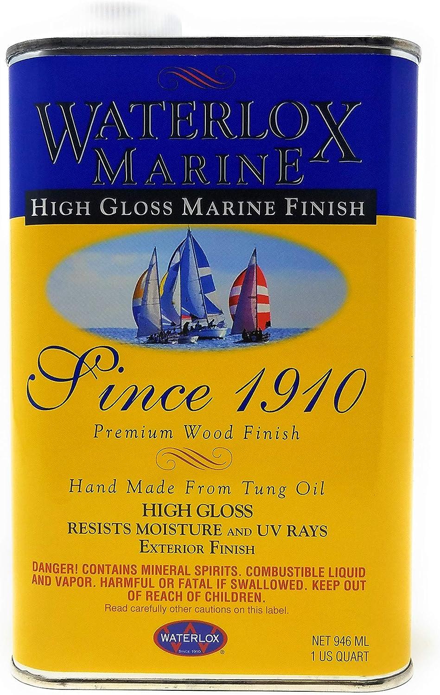 Waterlox TB3940 QT 3940-QT Marine Finish, Clear