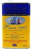 Waterlox TB3940 QT Marine Finish, Clear