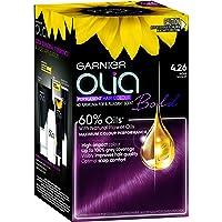 Garnier Olia Bold Permanent Hair Colour 4.26 Rose Violet (Ammonia Free, Oil Based)