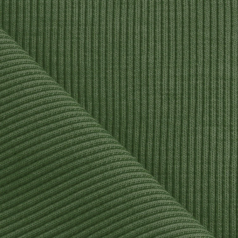 Orange Lunghezza: 50 cm con Polsini in Cotone Tessuto per Lavorazione a Maglia Neumann 100 cm