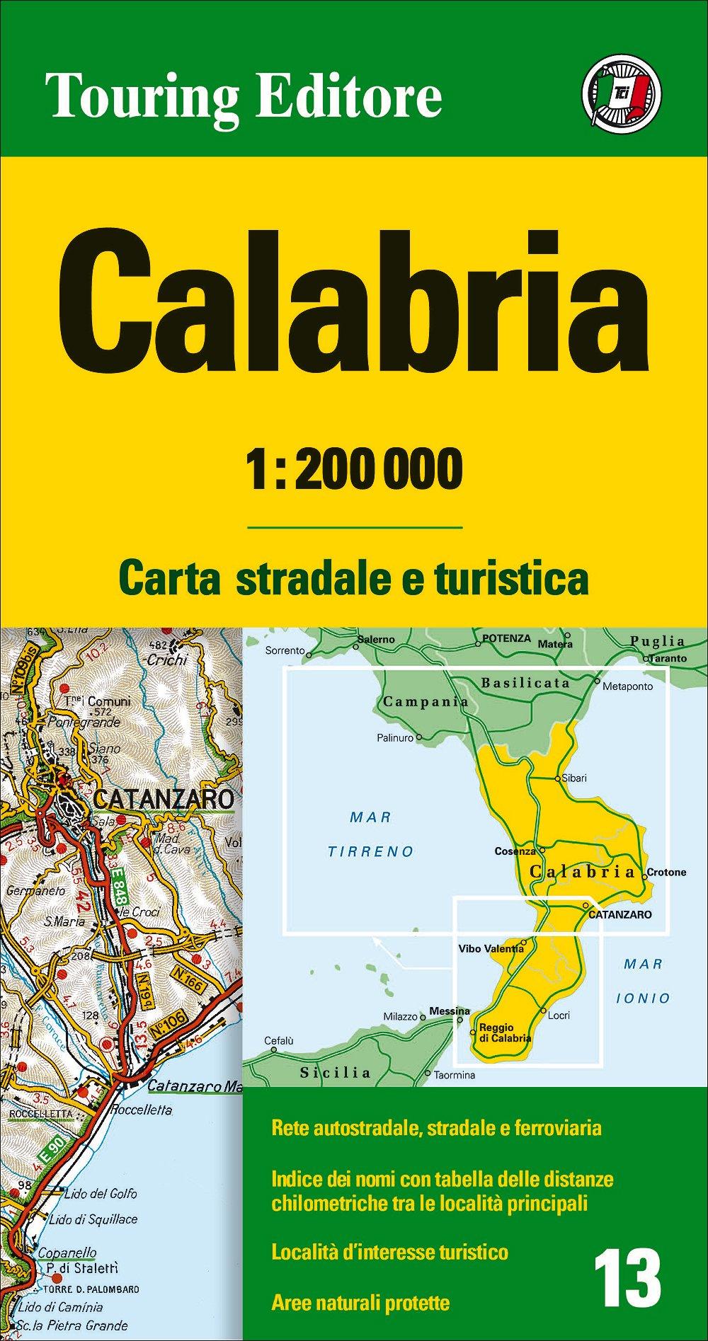Cartina Chilometrica Italia