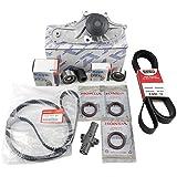 TIMING BELT KIT   Water Pump T-belt Kit   Camshaft Crankshaft Seal   (As in photo) GENUINE/OEM Fit select Honda, Acura…