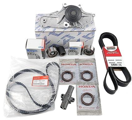 Acura Oem Parts >> Timing Belt Set Kit Genuine Honda Acura Oem As In Picture