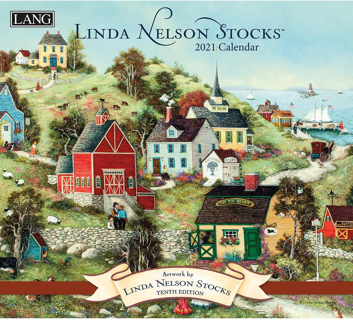 Amazon.: Lang Linda Nelson Stocks 2021 Wall Calendar