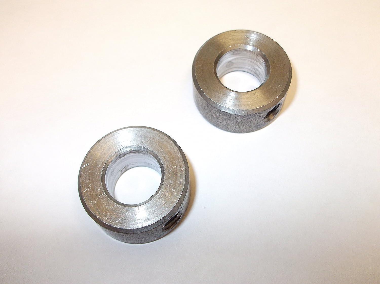 Innovo 2/x 6/mm Massivem Stahl Schaft Halsb/änder mit Gewindestift Solide Einem St/ück Qualit/ät Feststellschraube