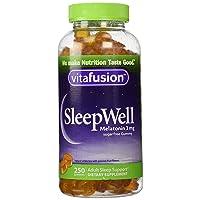 vitafusion SleepWell, 250 Gummies,3mg,Sugarfree