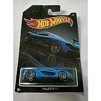 Hot wheels McLAREN P1 Scale 1:64 , 4/6 one Piece Car, Blue