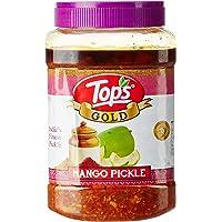 Tops Gold Mango Pickle Pet Jar, 1kg