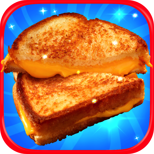 (Grilled Cheese Sandwich Maker - Kids School Lunch Cheesy Toast Maker Games FREE)