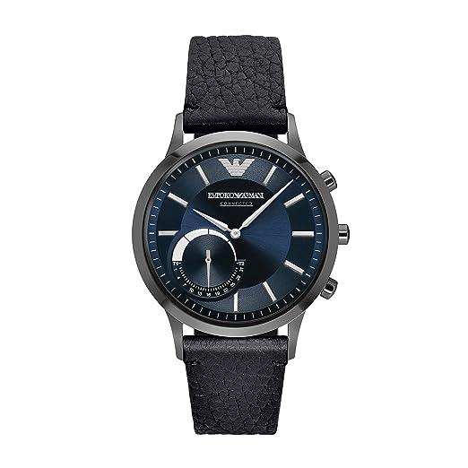 c2af0a9ea78f Emporio Armani Men s Hybrid Smartwatch ART3004  Amazon.co.uk  Watches