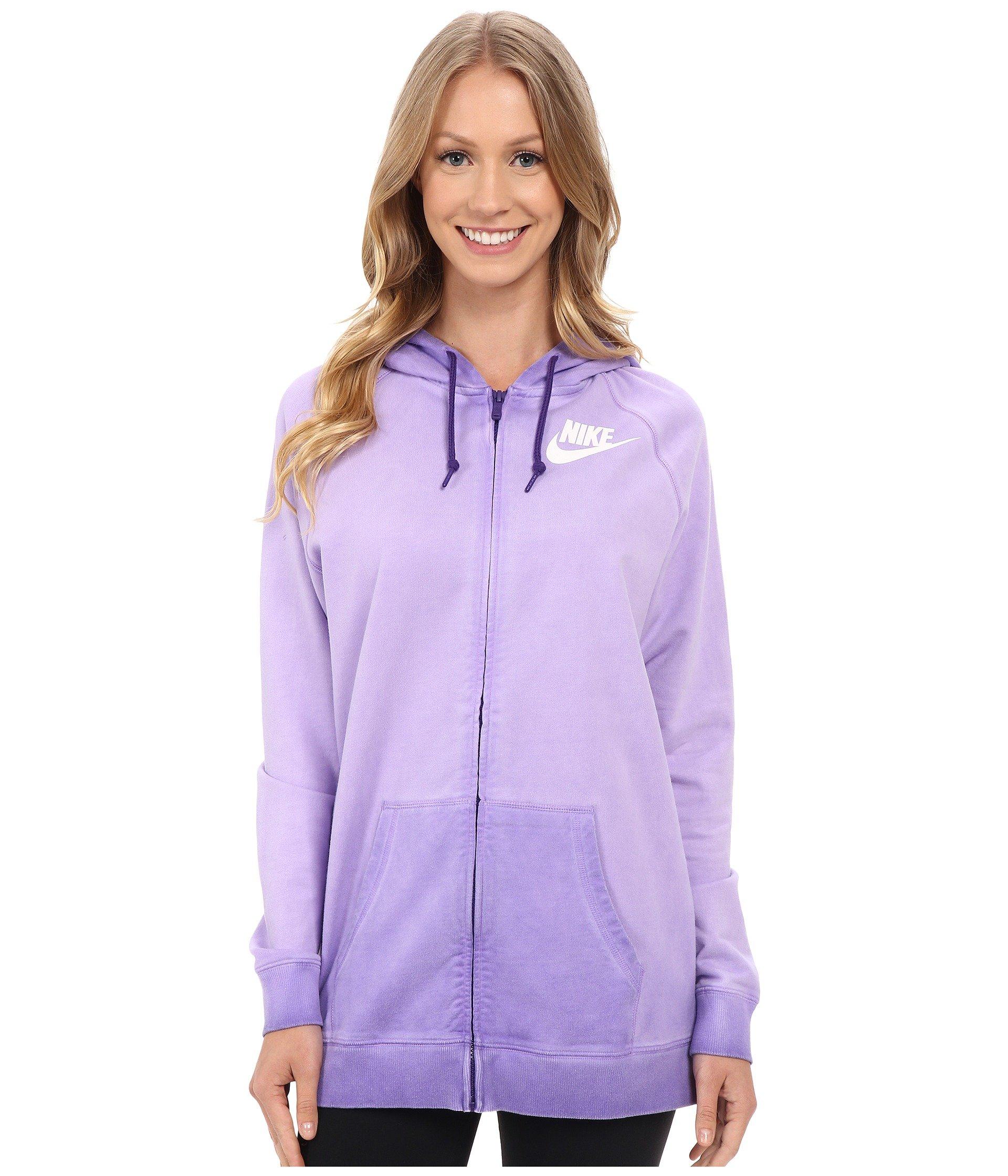 Nike Ombré Cotton Hoodie (X-Large, Purple)