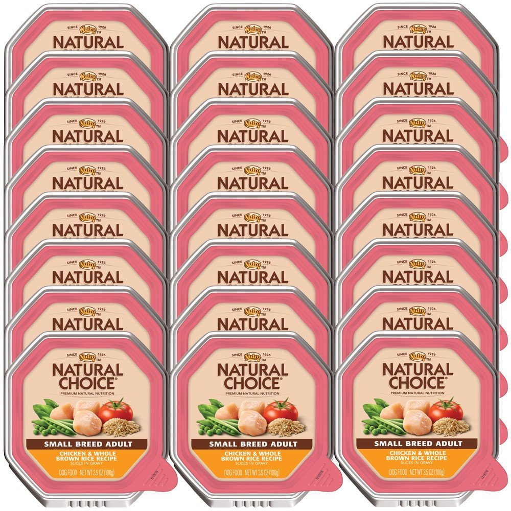 Nutro Natural Choice Small Breed Chicken Whole Brown Rice Adult Dog 24×3.5oz