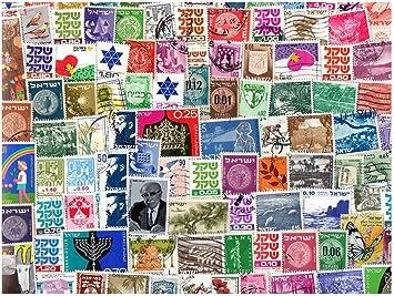 pghstamps Israel 500 Colección de Diferentes Sellos para ...