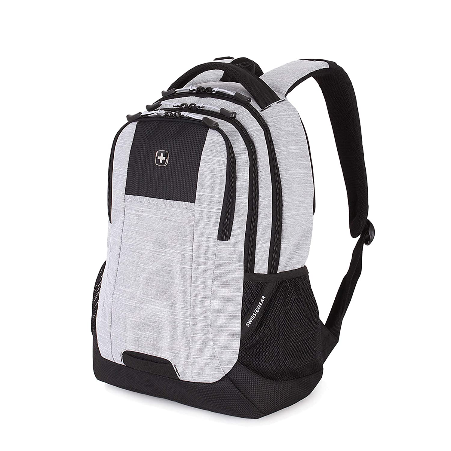 1748bb66c395 Swiss Gear Polyester Light Grey Laptop Backpack  Amazon.in  Bags ...