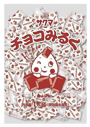 Sakuma leche de los art?culos de chocolate (almohada) 1kg