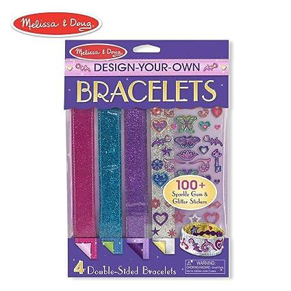 Amazon Com Melissa Doug Design Your Own Bracelets Arts Crafts