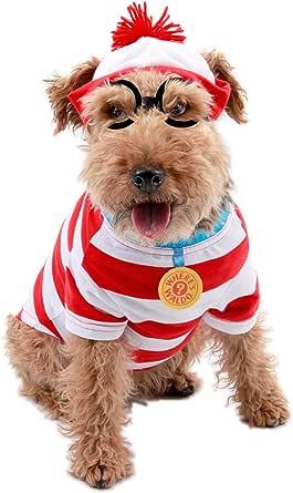 elope Where's Waldo Woof Pet Costume