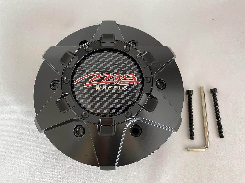 MB Wheels C-358-4 80478 Matte Black Center Cap Fits 6x139.7 6x135: Automotive