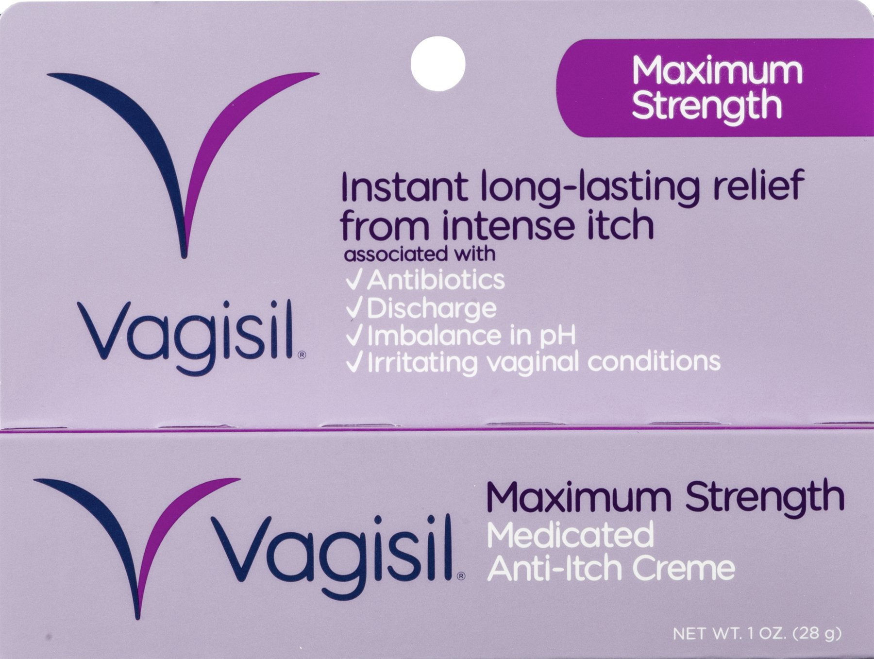 Vagisil Maximum Strength Cream, 1OZ (Pack of 24)