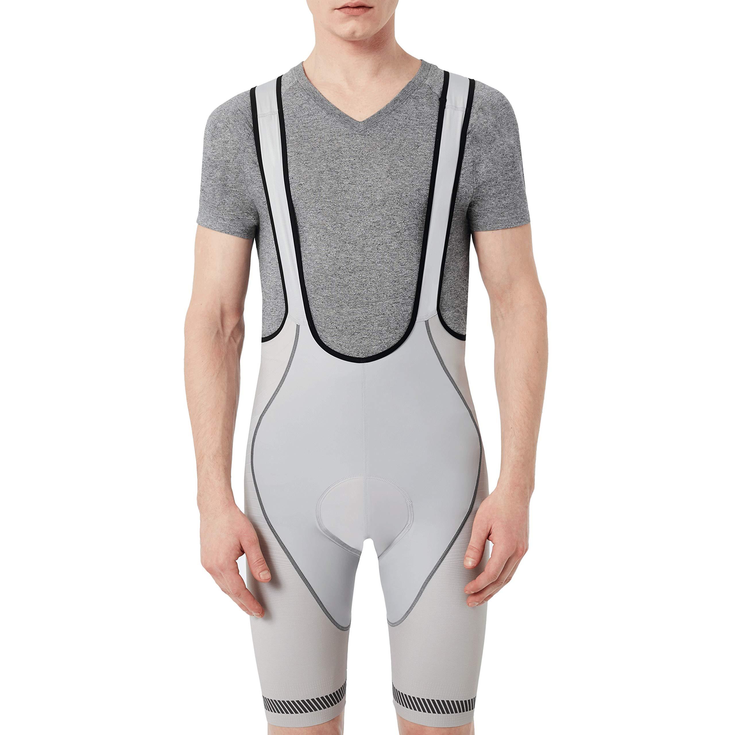 Oakley Men's Jawbreaker Premium Bib Shorts,2X-Large,Stone Gray