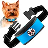 Small Dog Bark Collar Rechargeable - Anti Barking Collar For Small Dogs - Smallest Most Humane Stop Barking Collar - Dog…