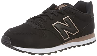 new balance noir gold