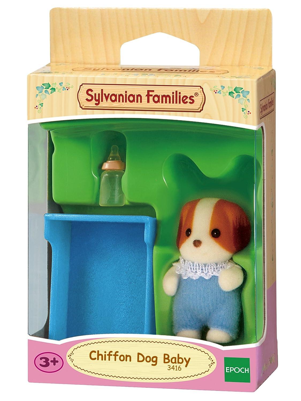 3416 Beb/é perro Chif/ón ni/ño Epoch Sylvanian Families