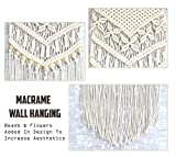 SnZsl Macrame Woven Wall Hanging - Rustic All