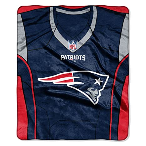 fe069a70bf The Northwest Company NFL New England Patriots Royal Plus Raschel Throw