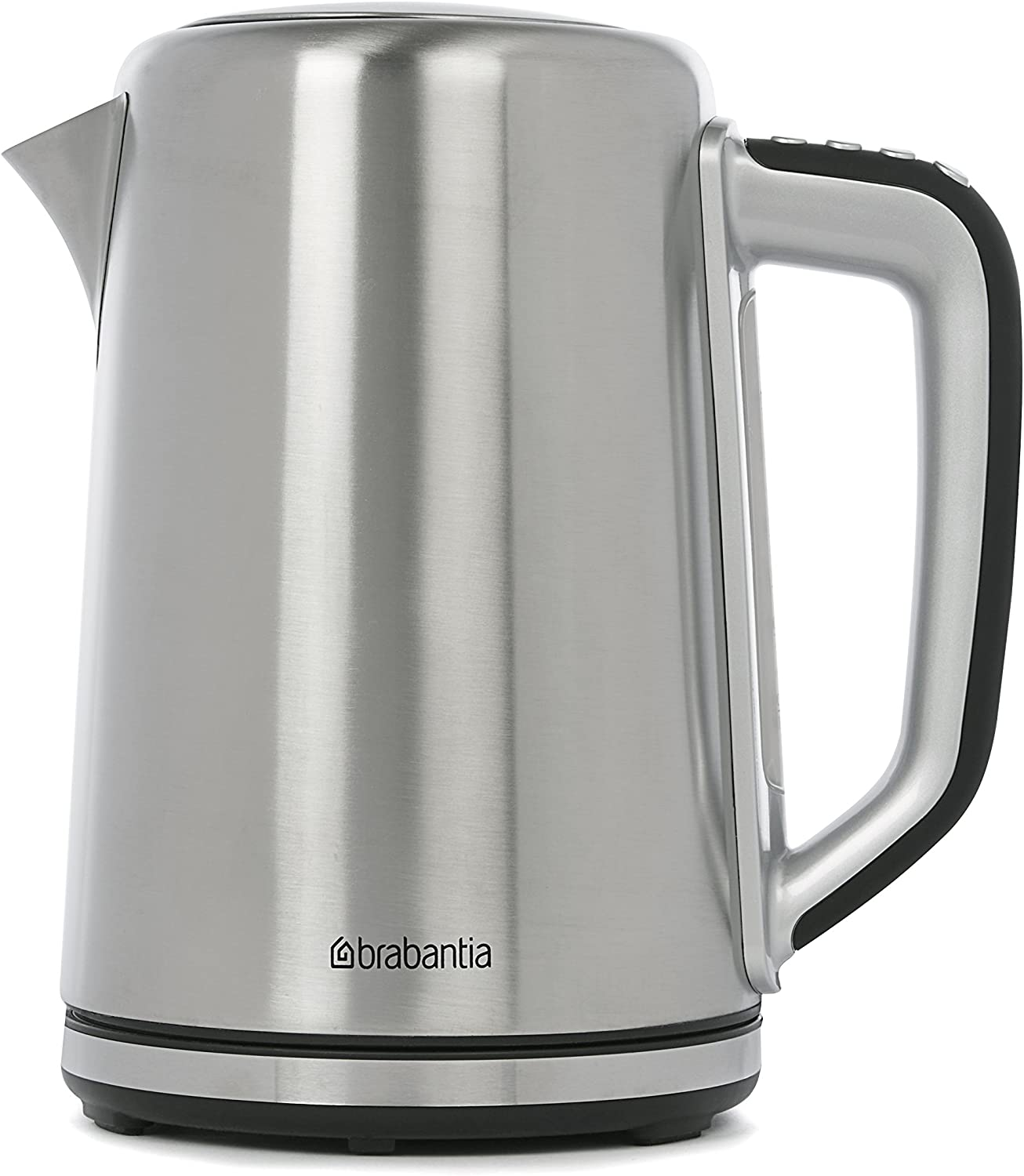 Brabantia Kettle (Black and Silver