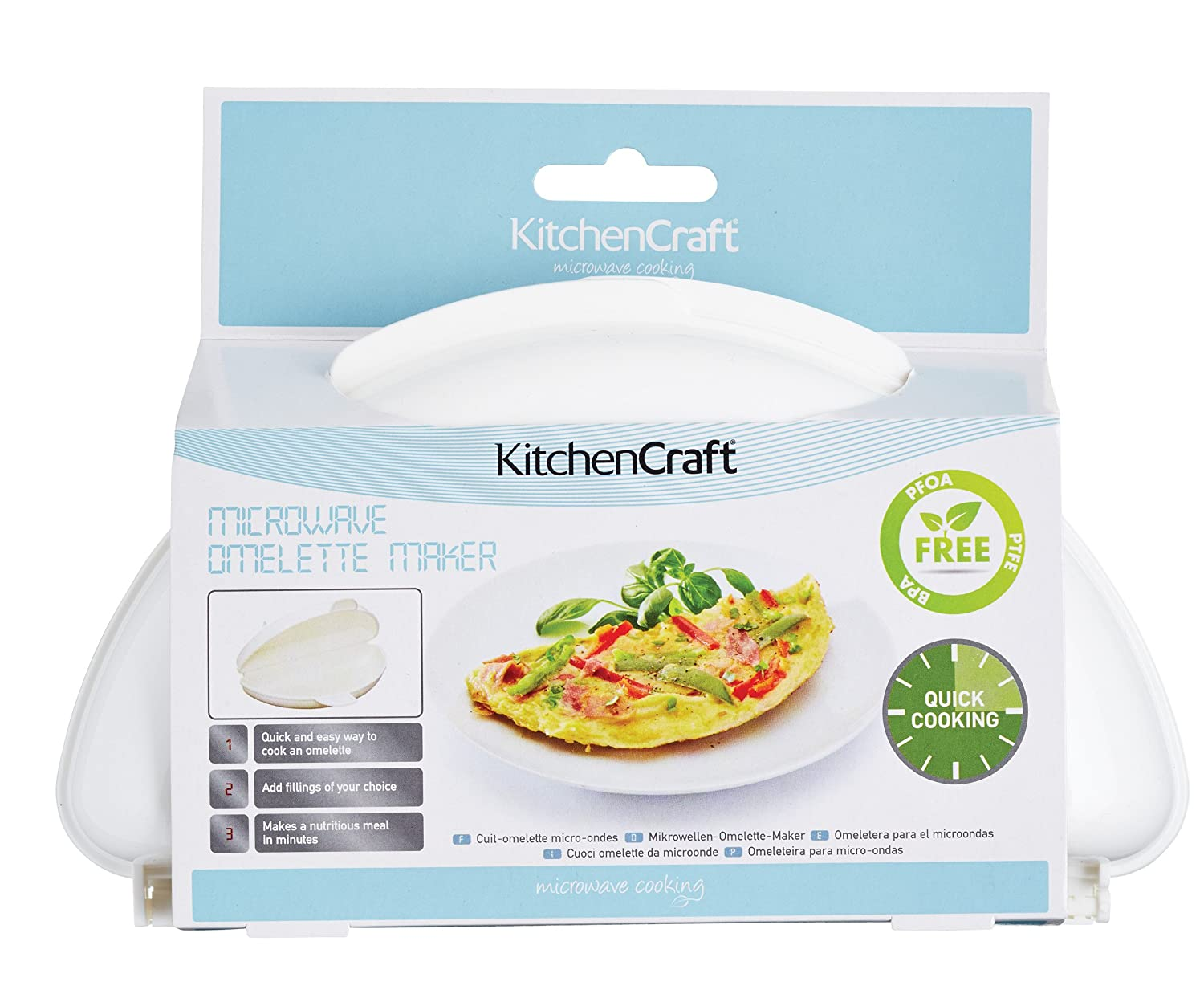 Kitchen Craft KCMOMELETTE - Sartén para Tortilla: Amazon.es