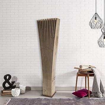 Holzwert Palmen Fächer Stehle   Premium Dekoration Wohnzimmer U0026 Flur I  Moderne Deko Aus Hochwertigem Holz