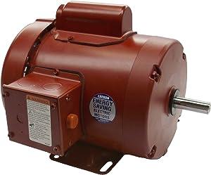Leeson 1-1/2 HP 1725 RPM 56H Frame 115/208-230V TEFC Farm Duty Motor (110089)