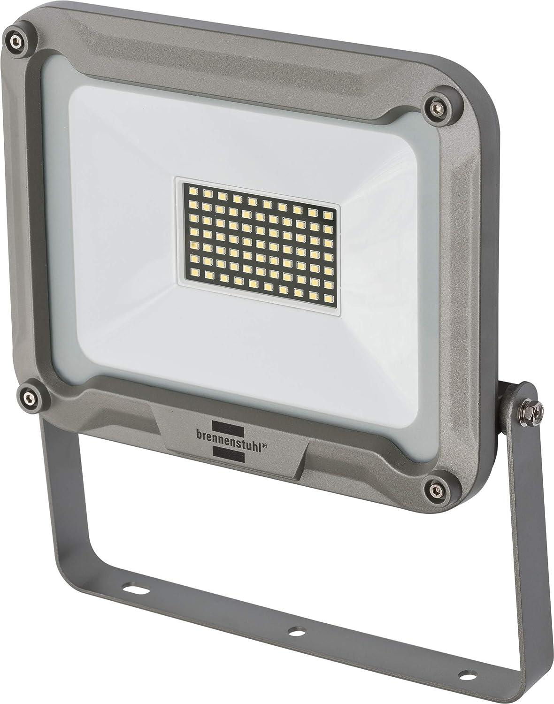 Brennenstuhl LED Strahler Jaro 5000 (fü r auß en, LED-Auß enstrahler zur Wandmontage, LED-Fluter 50W aus Aluminium, IP65) silber Hugo Brennenstuhl GmbH & Co. KG 1171250531